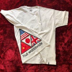 XL HUF Worldwide T-shirt